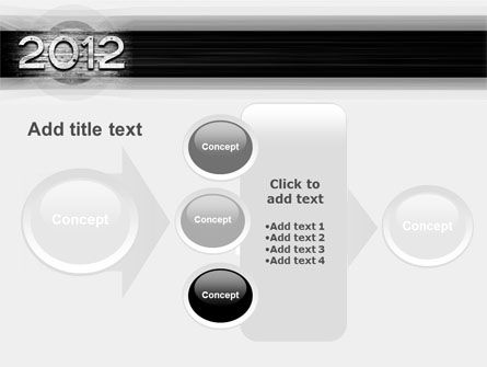 2012 Report PowerPoint Template Slide 17