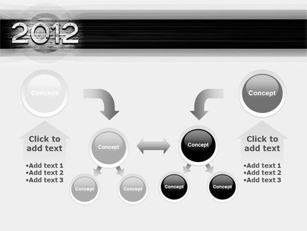 2012 Report PowerPoint Template Slide 19