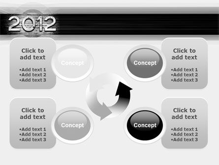 2012 Report PowerPoint Template Slide 9