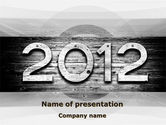 Global: 2012 Report PowerPoint Template #09435