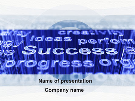 Success Ingredients In Business PowerPoint Template
