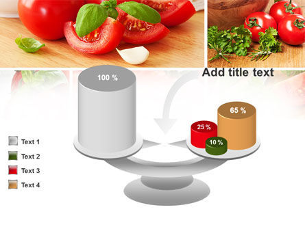 Sliced Tomatoes PowerPoint Template Slide 10