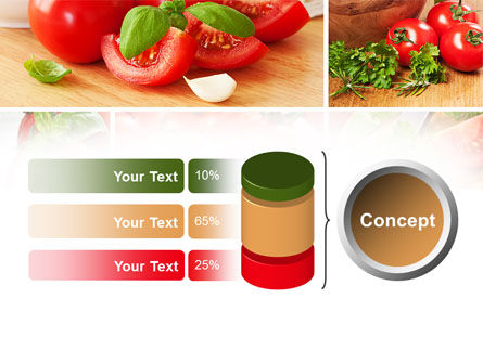 Sliced Tomatoes PowerPoint Template Slide 11