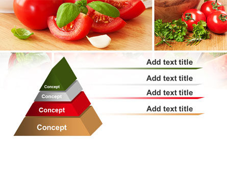 Sliced Tomatoes PowerPoint Template Slide 12