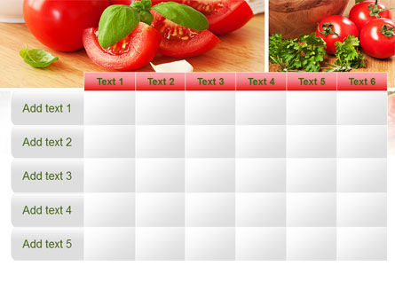 Sliced Tomatoes PowerPoint Template Slide 15