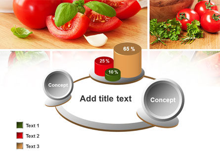 Sliced Tomatoes PowerPoint Template Slide 16