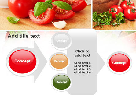 Sliced Tomatoes PowerPoint Template Slide 17