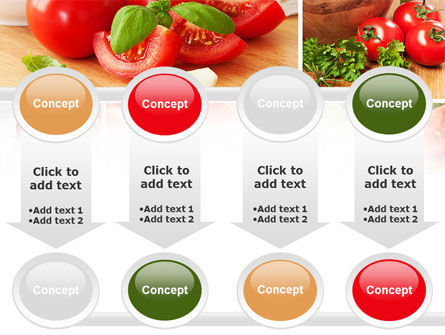 Sliced Tomatoes PowerPoint Template Slide 18