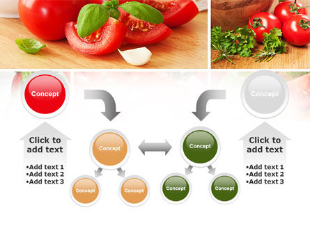 Sliced Tomatoes PowerPoint Template Slide 19