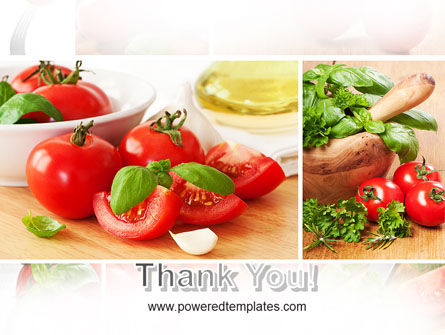 Sliced Tomatoes PowerPoint Template Slide 20