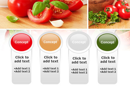Sliced Tomatoes PowerPoint Template Slide 5
