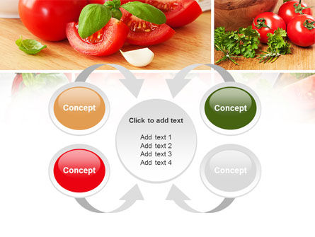 Sliced Tomatoes PowerPoint Template Slide 6