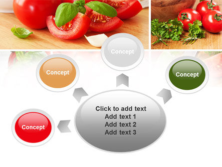 Sliced Tomatoes PowerPoint Template Slide 7