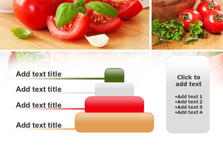 Sliced Tomatoes PowerPoint Template Slide 8