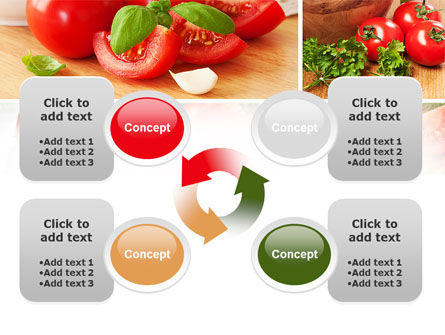 Sliced Tomatoes PowerPoint Template Slide 9