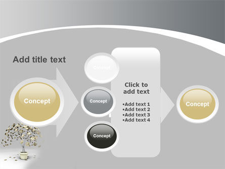 Coins On Money Tree PowerPoint Template Slide 17