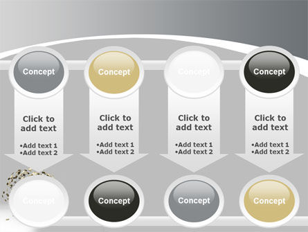 Coins On Money Tree PowerPoint Template Slide 18