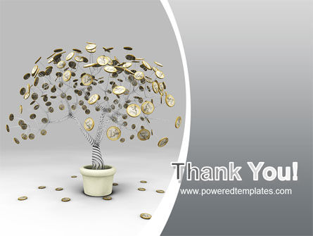 Coins On Money Tree PowerPoint Template Slide 20