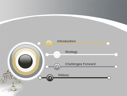 Coins On Money Tree PowerPoint Template, Slide 3, 09439, Business — PoweredTemplate.com