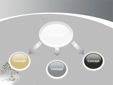 Coins On Money Tree PowerPoint Template, Slide 4, 09439, Business — PoweredTemplate.com