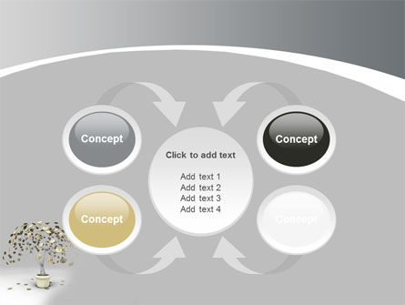 Coins On Money Tree PowerPoint Template Slide 6