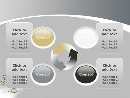 Coins On Money Tree PowerPoint Template Slide 9