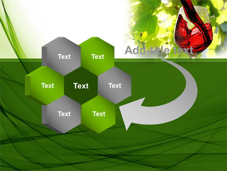 Red Winegrowing PowerPoint Template Slide 11