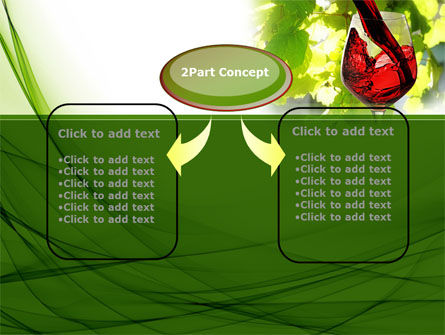Red Winegrowing PowerPoint Template Slide 4