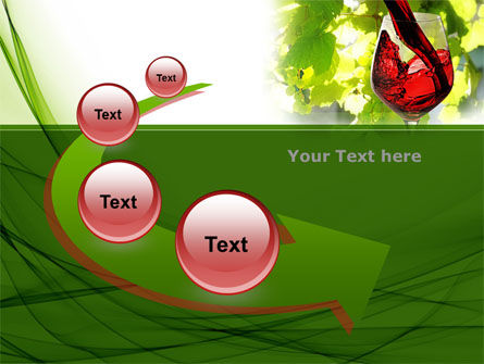 Red Winegrowing PowerPoint Template Slide 6