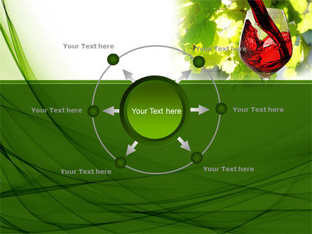 Red Winegrowing PowerPoint Template Slide 7