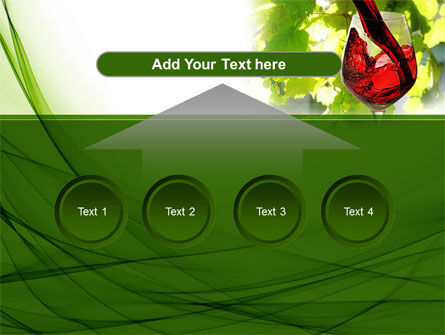 Red Winegrowing PowerPoint Template Slide 8