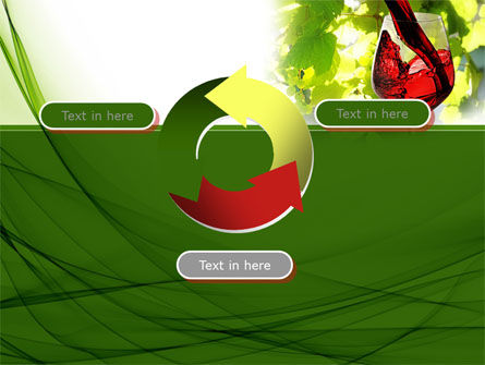 Red Winegrowing PowerPoint Template Slide 9