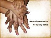 Religious/Spiritual: 手のひらにパーム - PowerPointテンプレート #09443