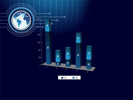 Blue Globe of Earth PowerPoint Template Slide 17