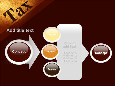 Tax PowerPoint Template Slide 17