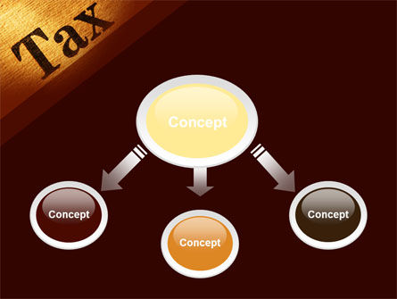 Tax PowerPoint Template, Slide 4, 09445, Financial/Accounting — PoweredTemplate.com