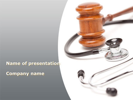 Medical: Trials of Doctors PowerPoint Template #09446