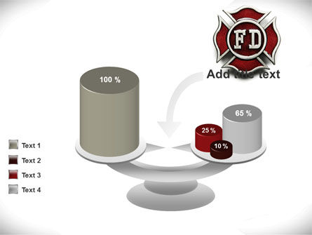 Fire Department Badge PowerPoint Template Slide 10
