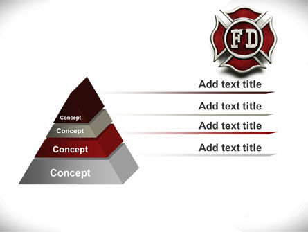 Fire Department Badge PowerPoint Template Slide 12