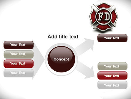 Fire Department Badge PowerPoint Template Slide 14