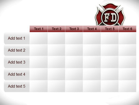 Fire Department Badge PowerPoint Template Slide 15