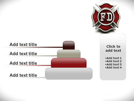 Fire Department Badge PowerPoint Template Slide 8