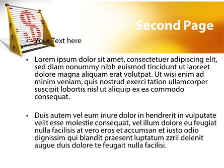 Abacus PowerPoint Template Slide 2