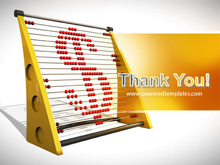 Abacus PowerPoint Template Slide 20