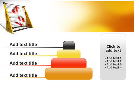 Abacus PowerPoint Template Slide 8