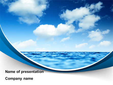 Sea powerpoint template backgrounds 09450 poweredtemplate sea powerpoint template toneelgroepblik Gallery