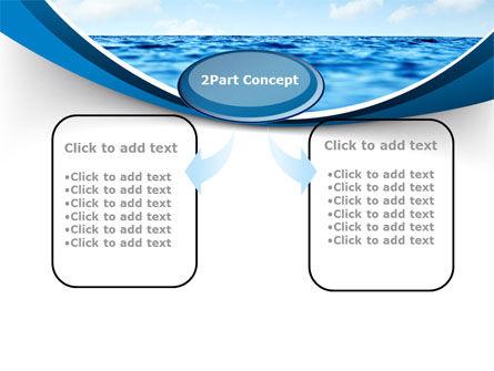Sea PowerPoint Template, Slide 4, 09450, Nature & Environment — PoweredTemplate.com