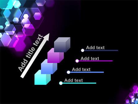 Hexagonal Bokeh PowerPoint Template Slide 14