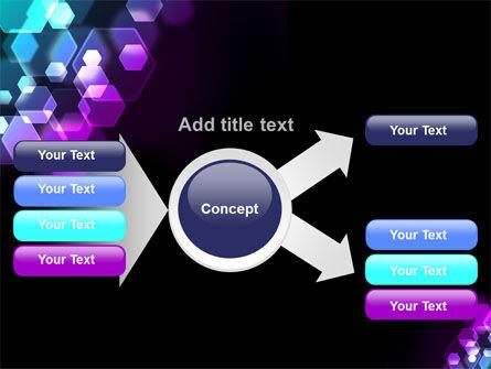 Hexagonal Bokeh PowerPoint Template Slide 15