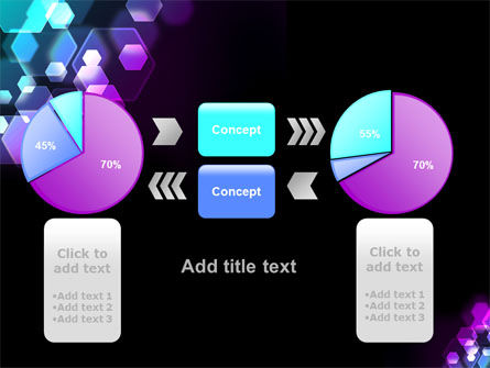 Hexagonal Bokeh PowerPoint Template Slide 16
